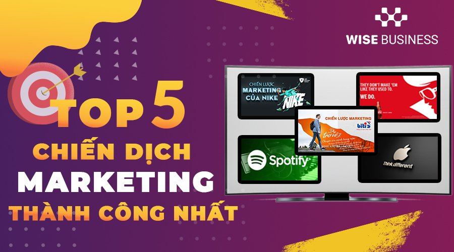 top 5 chien dich marketing thanh cong